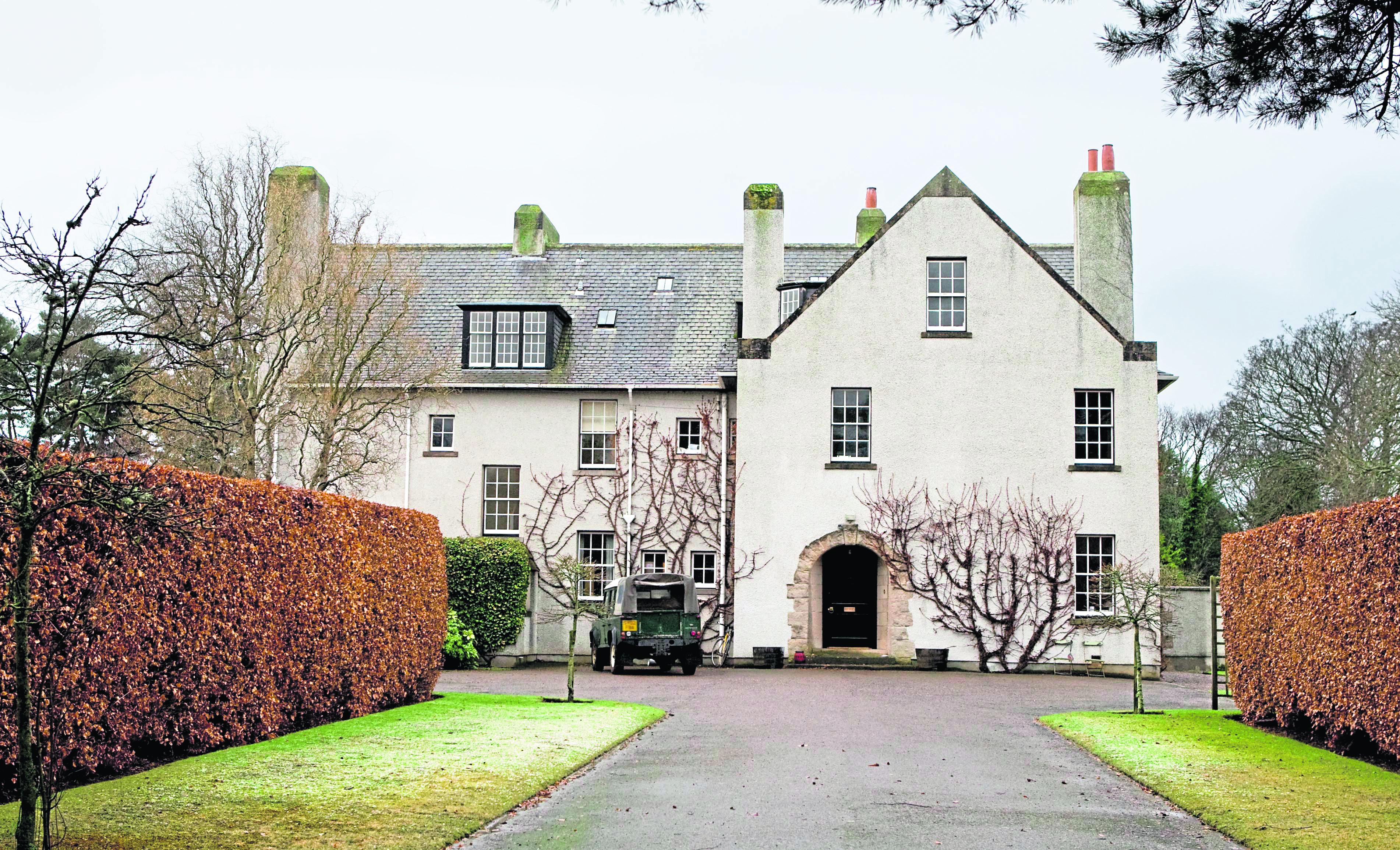 The Nairn home of Oscar nominee actress Tilda Swinton.