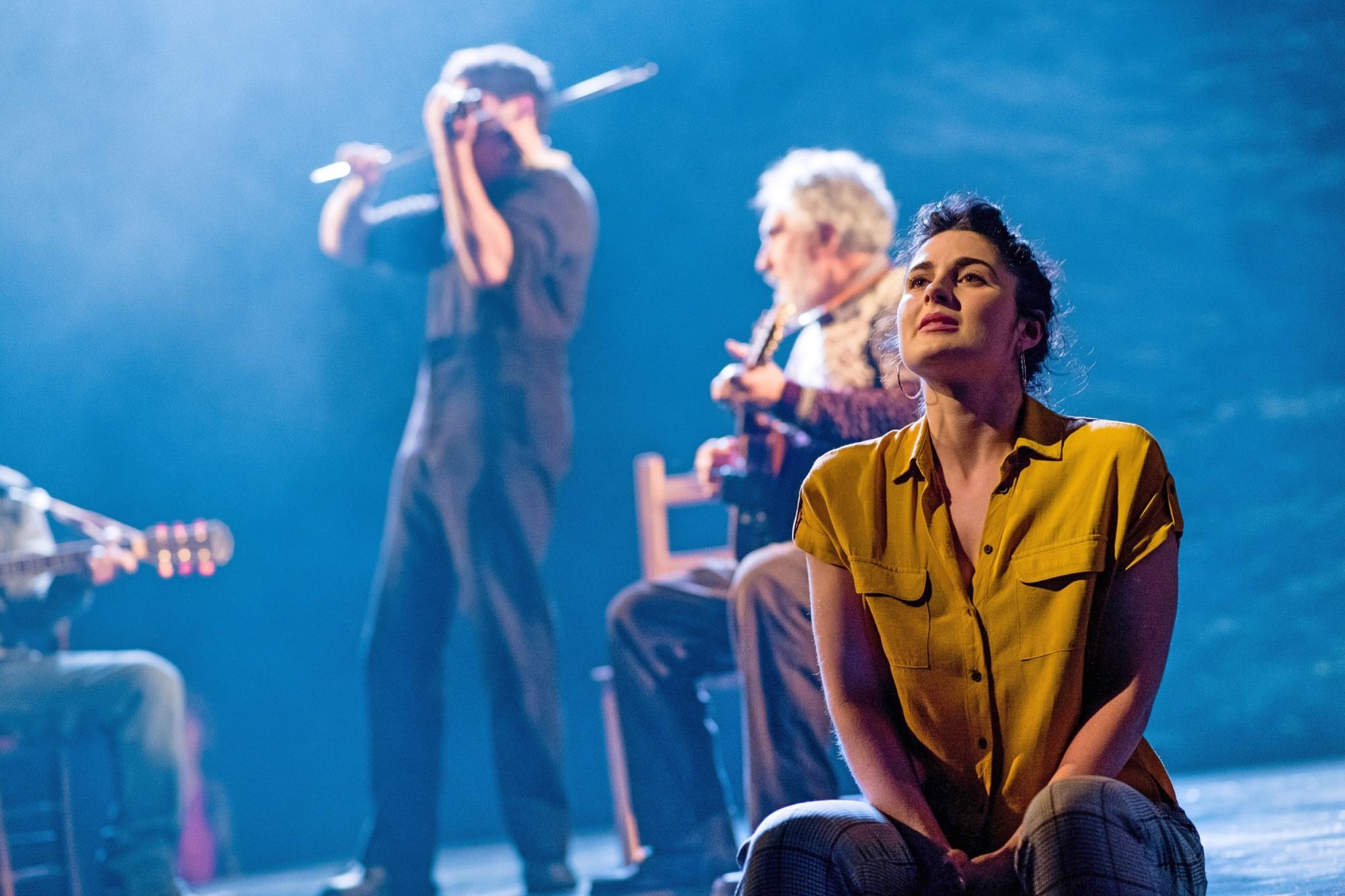 Sophia McLean performs in Lost at Sea