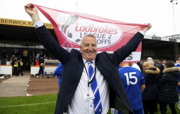 Former Cove Rangers manager John Sheran.