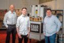 l-r EBar Initiatives director Nick Beeson, product development engineer Kyle O'Callaghan and managing director Sam Pettipher