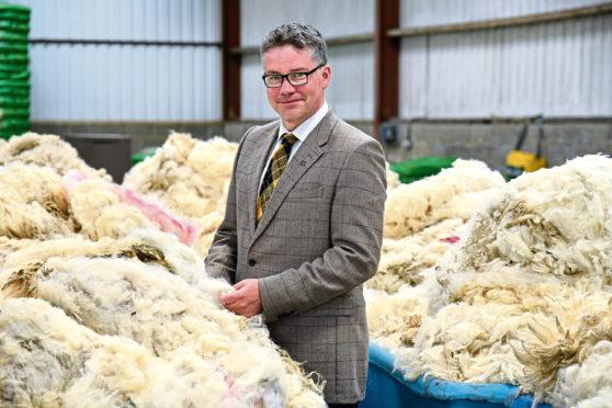 British Wool chief executive officer, Joe Farren.