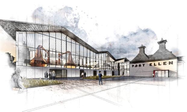 How Port Ellen Distillery will look if the plans go ahead.