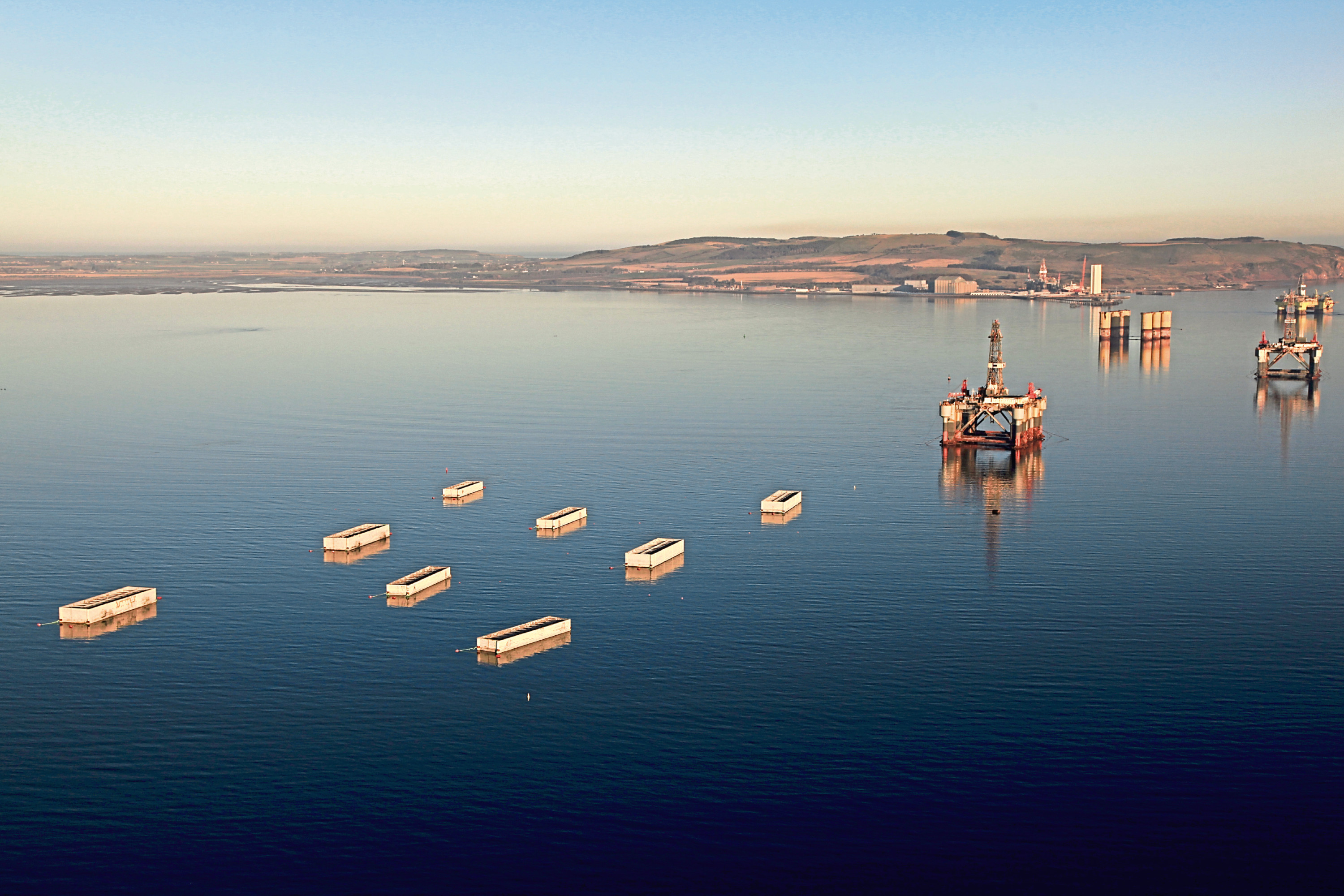 Port of Cromarty Firth takes delivery of millions of tonnes of infrastructure materials for new construction projects across the Highlands