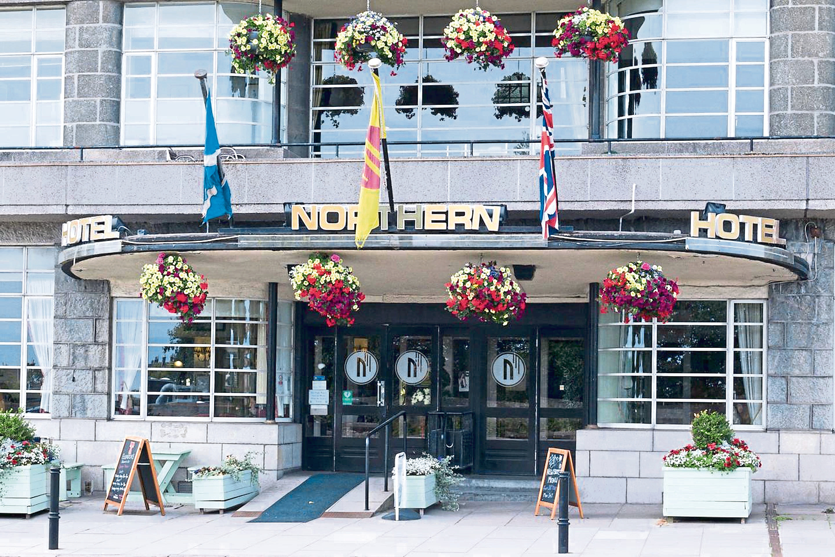 The Northern Hotel in Aberdeen. Submitted.