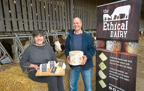 Wilma and David Finlay hosted the event at their farm.