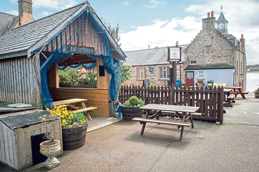 The Crown & Anchor Inn in Findhorn, Moray.  Pictures by Jason Hedges