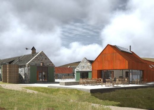 Artist's impressions of the Cabrach Trust's project