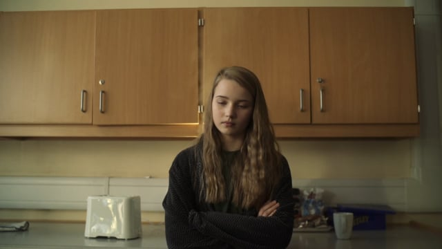 A scene from Origami, a Gaelic language film due to be shown in Venice as part of an international festival.