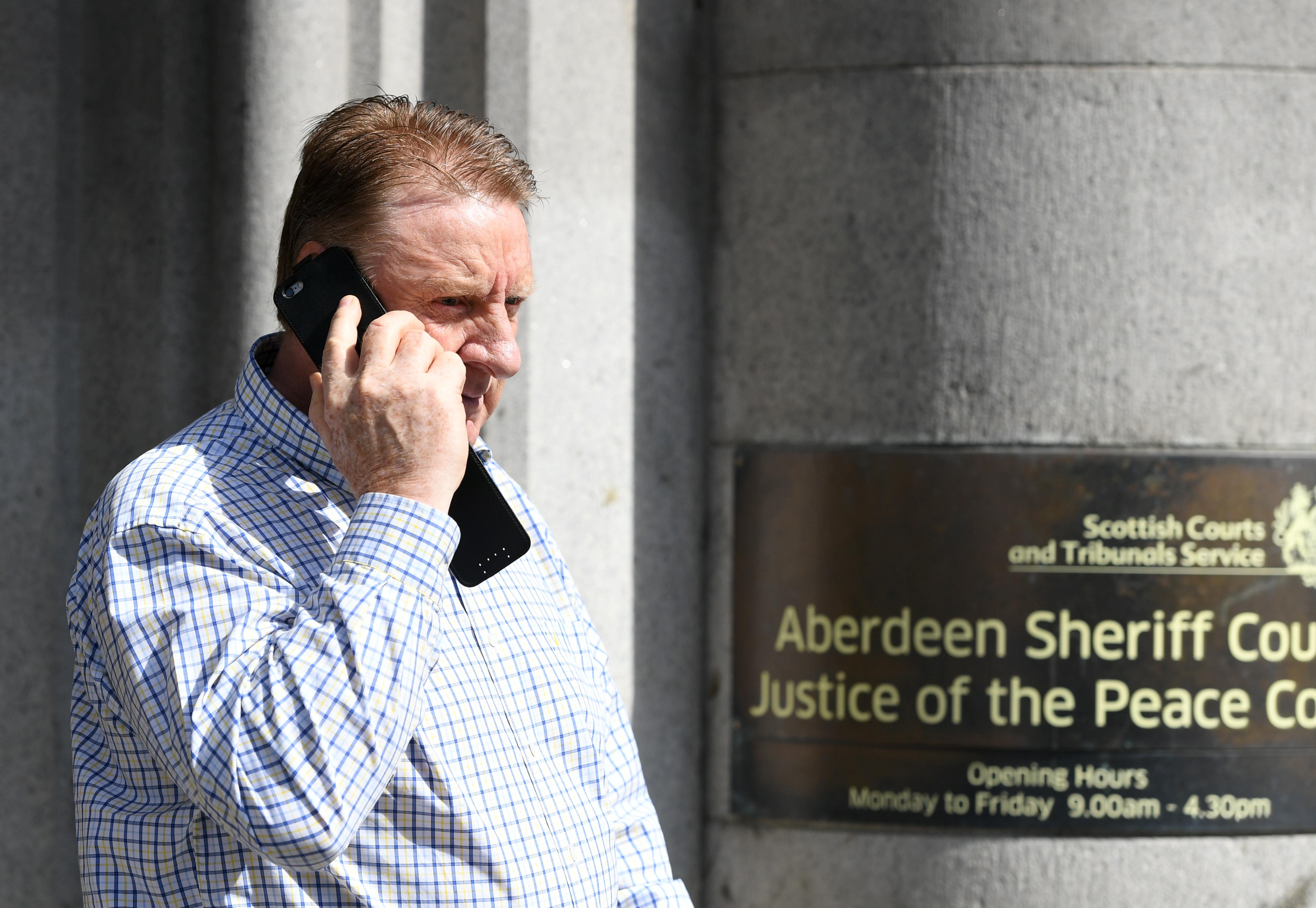 Alan Massey at Aberdeen Sheriff Court