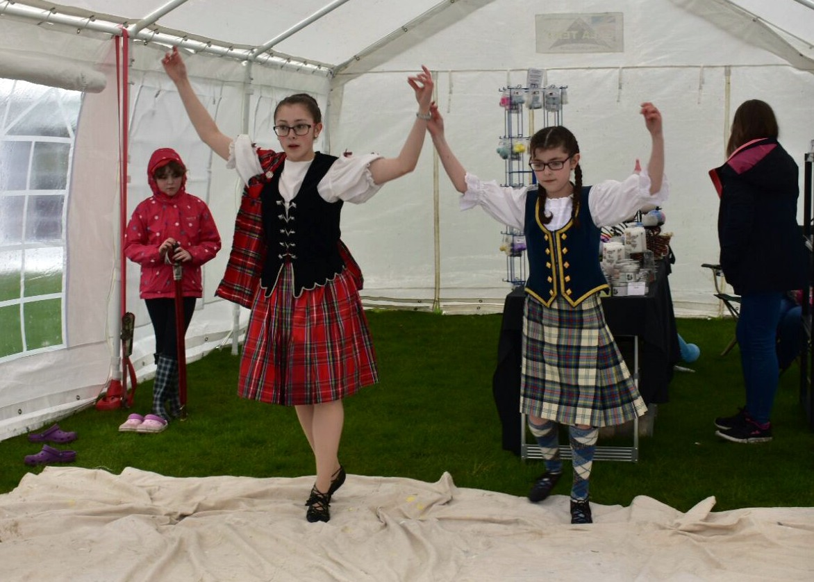 Youngsters from the Caroline McGruther School of Dancing entertaining crowds at the 2017 Longside Gala