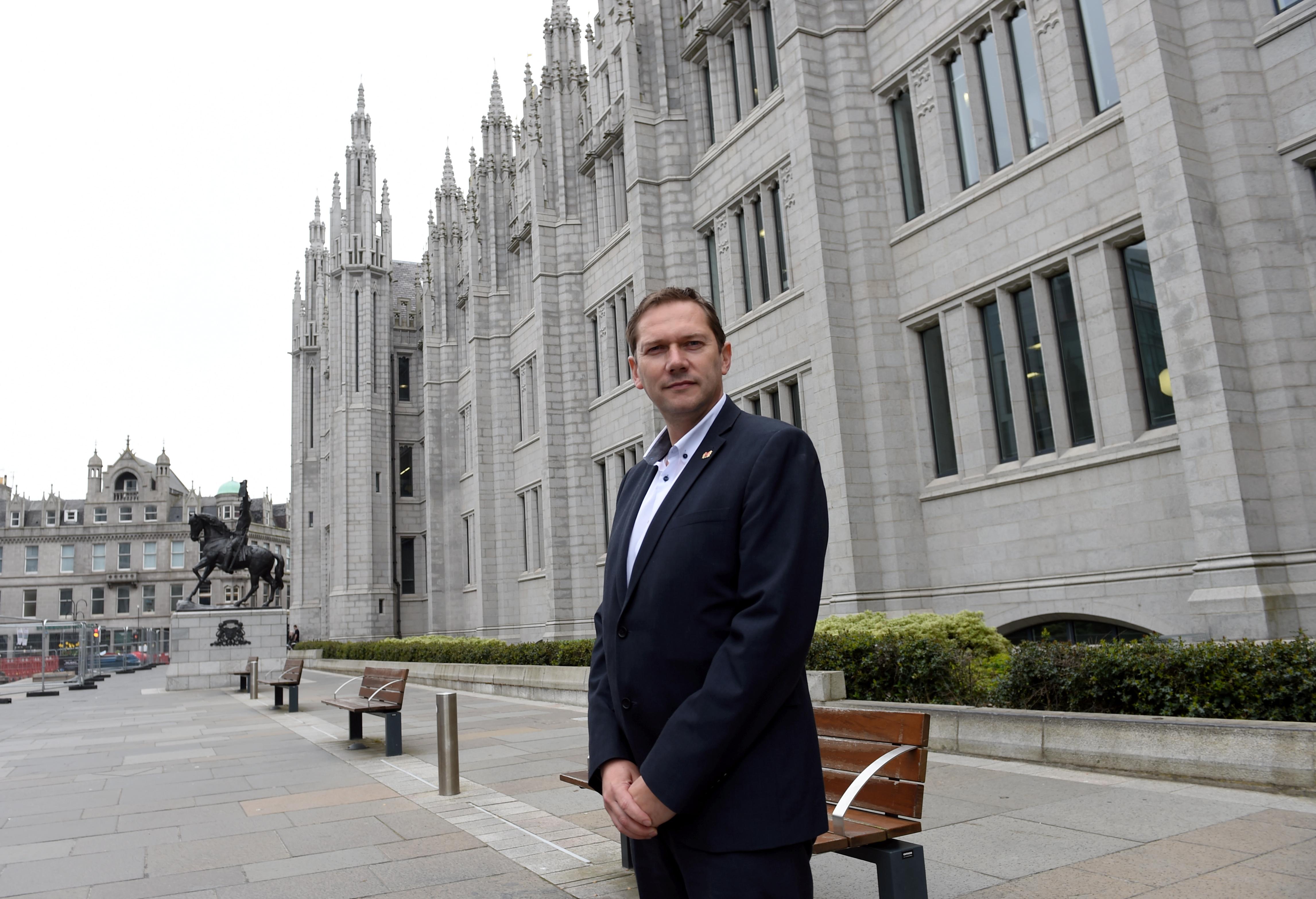 Councillor Douglas Lumsden