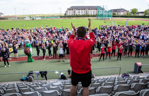 More than 1,500 primary pupils turned up for the 2019 Aberdeen Youth Games