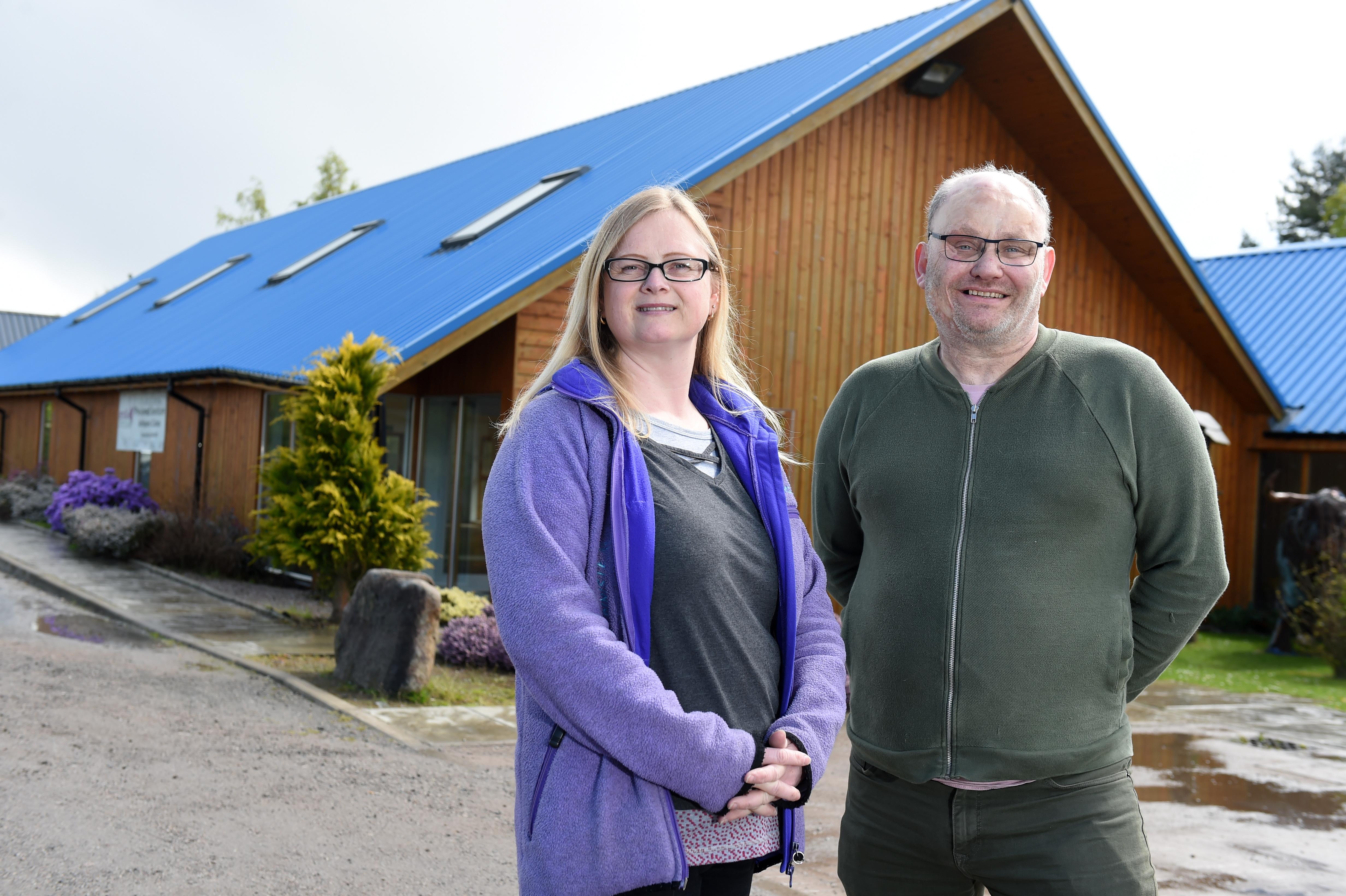 Angela Allan and Clive Hampshire of Smile Scotland
