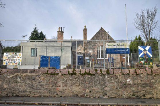 Strachan School near Banchory.
