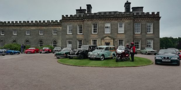 Classic cars gathered in Elgin for last year's event.