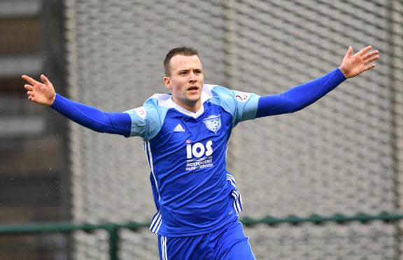 Peterhead midfielder Paul Willis.