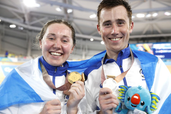Brother and sister John and Katie Archibald will compete in the Tour Series event in Aberdeen tomorrow.