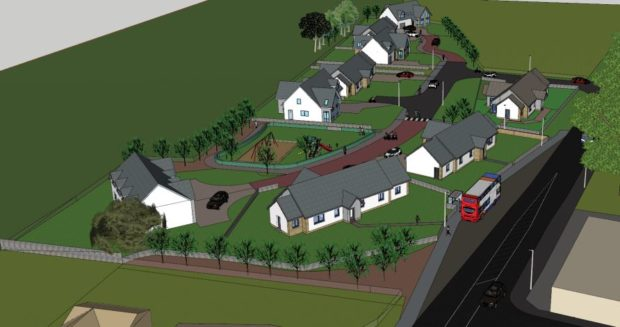 The plans for the former railway yard have been rejected