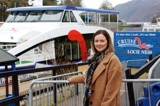 Debi Mackenzie of Cruise Loch Ness