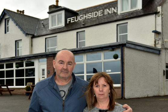The Callanders are selling the Feughside Inn