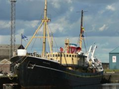 The SS Explorer is currently based in Leith.