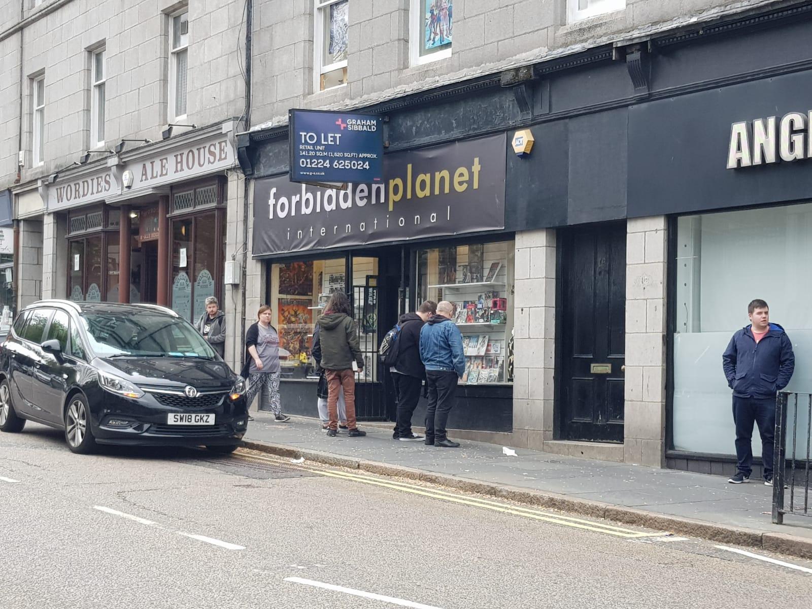 Forbidden Planet, Aberdeen