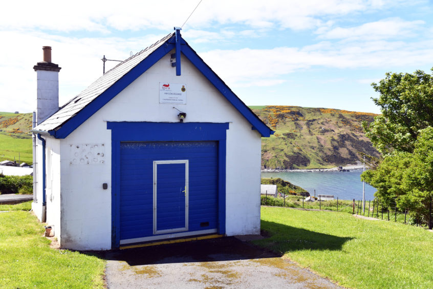 The former coastguard station at Gardenstown has been successfully sold at auction