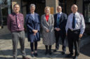 Aberdeenshire East MSP Gillian Martin met the charity's outreach team.