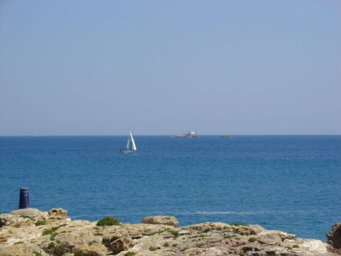 Islas Hormigas in Cabo de Palos, south east Spain