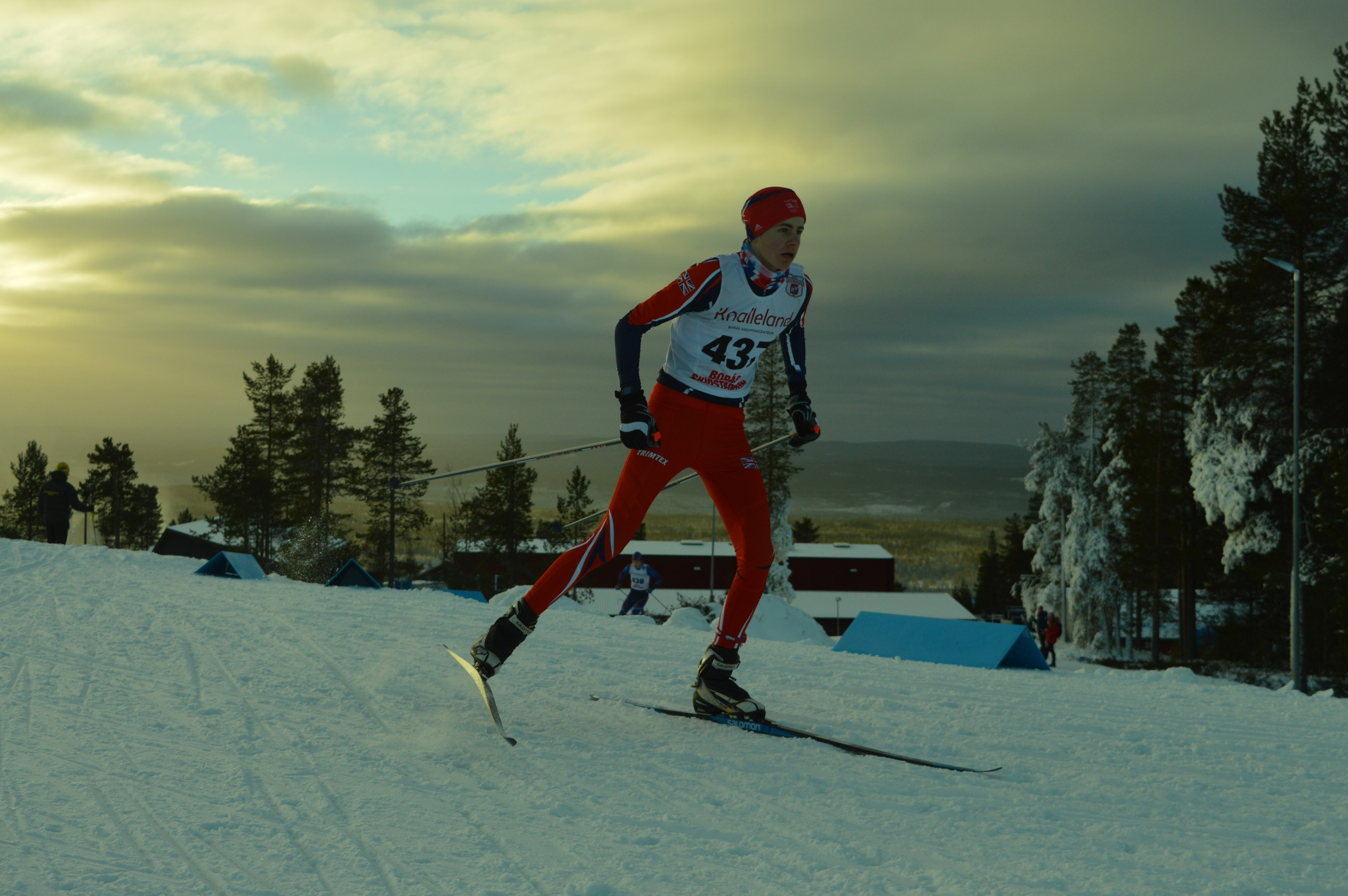 James Slimon is to return to Idre in Sweden to again compete in the winter snow competition