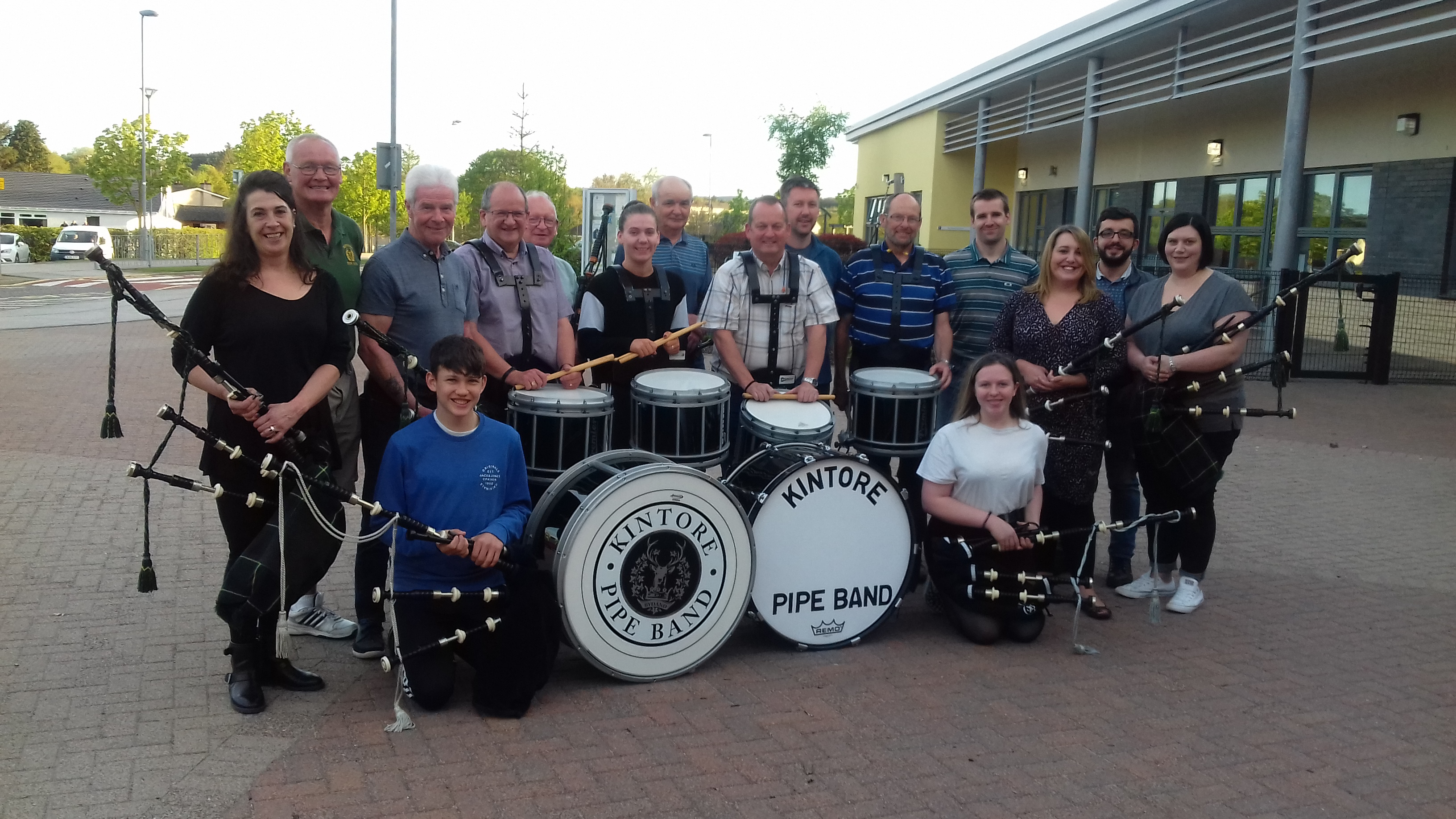 Kintore Pipe Band.