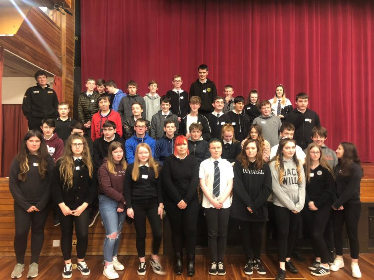 Young people involved in the popular Meaningful May programme