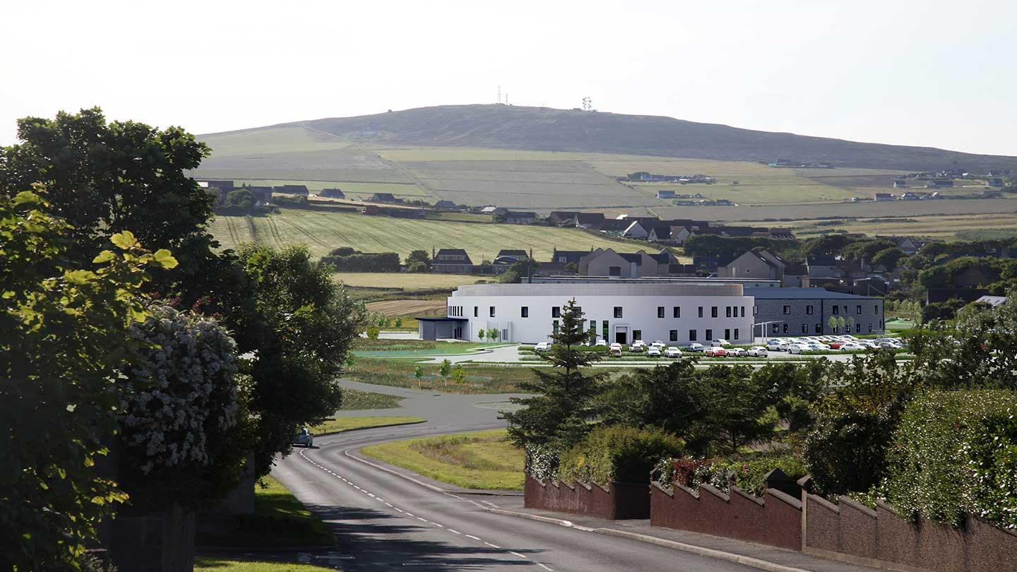 NHS Orkney's Balfour Hospital in Kirkwall.