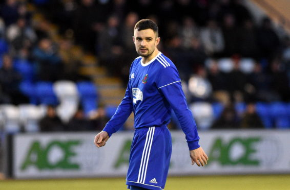 Cove Rangers defender Scott Ross.