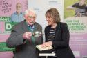 Childline founder Esther Rantzen with Norman Hutchison. Picture by Jason Hedges.