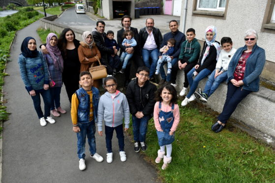 Four new refugee families from Syria have arrived in Ellon and have appealed for bikes to help their family integrate into the community and explore the region.