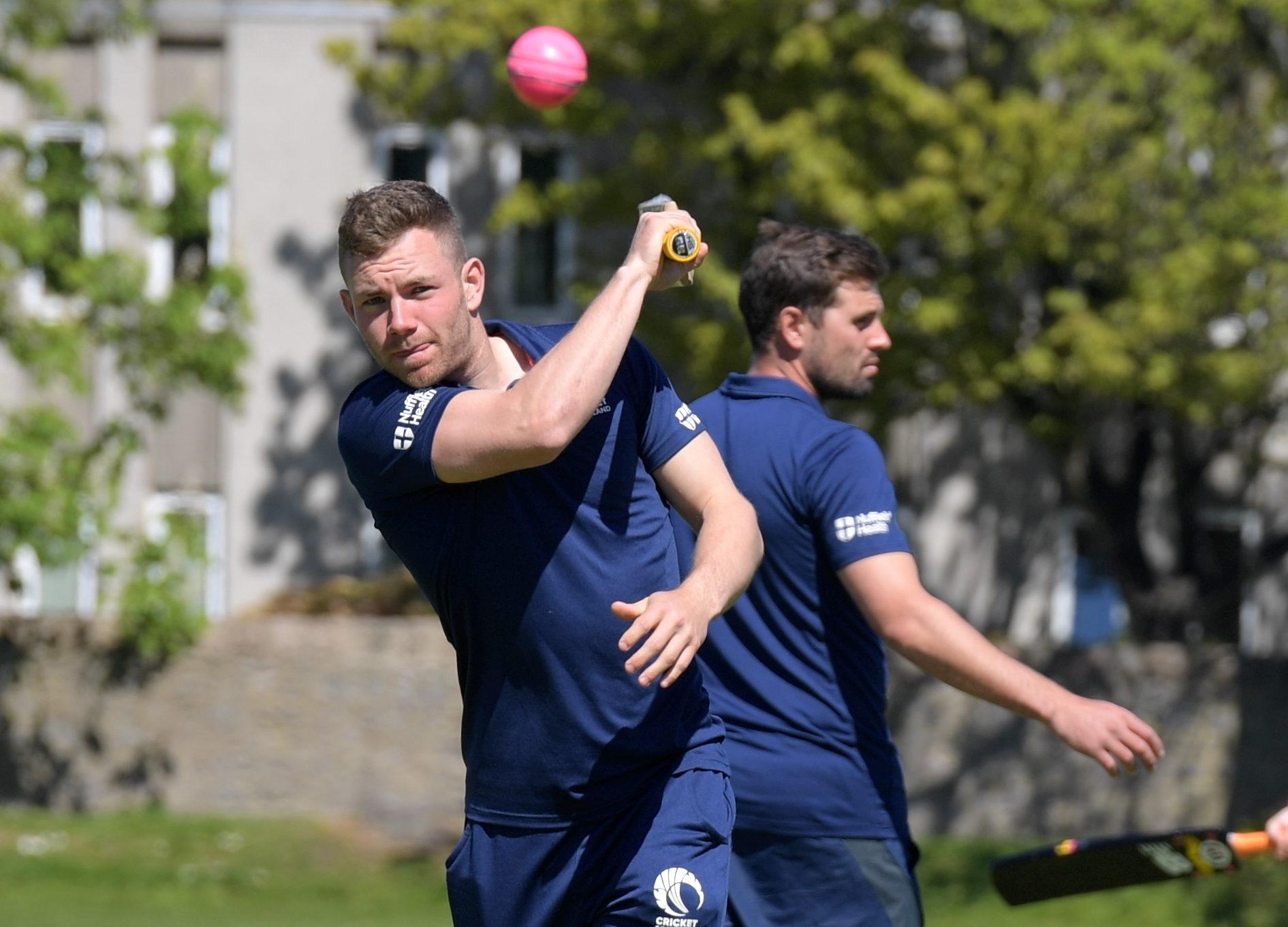 Aberdeen-born Scotland wicket-keeper Matthew Cross.