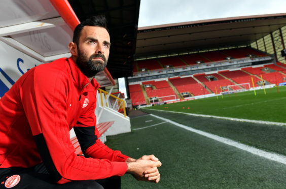 New Aberdeen captain Joe Lewis.