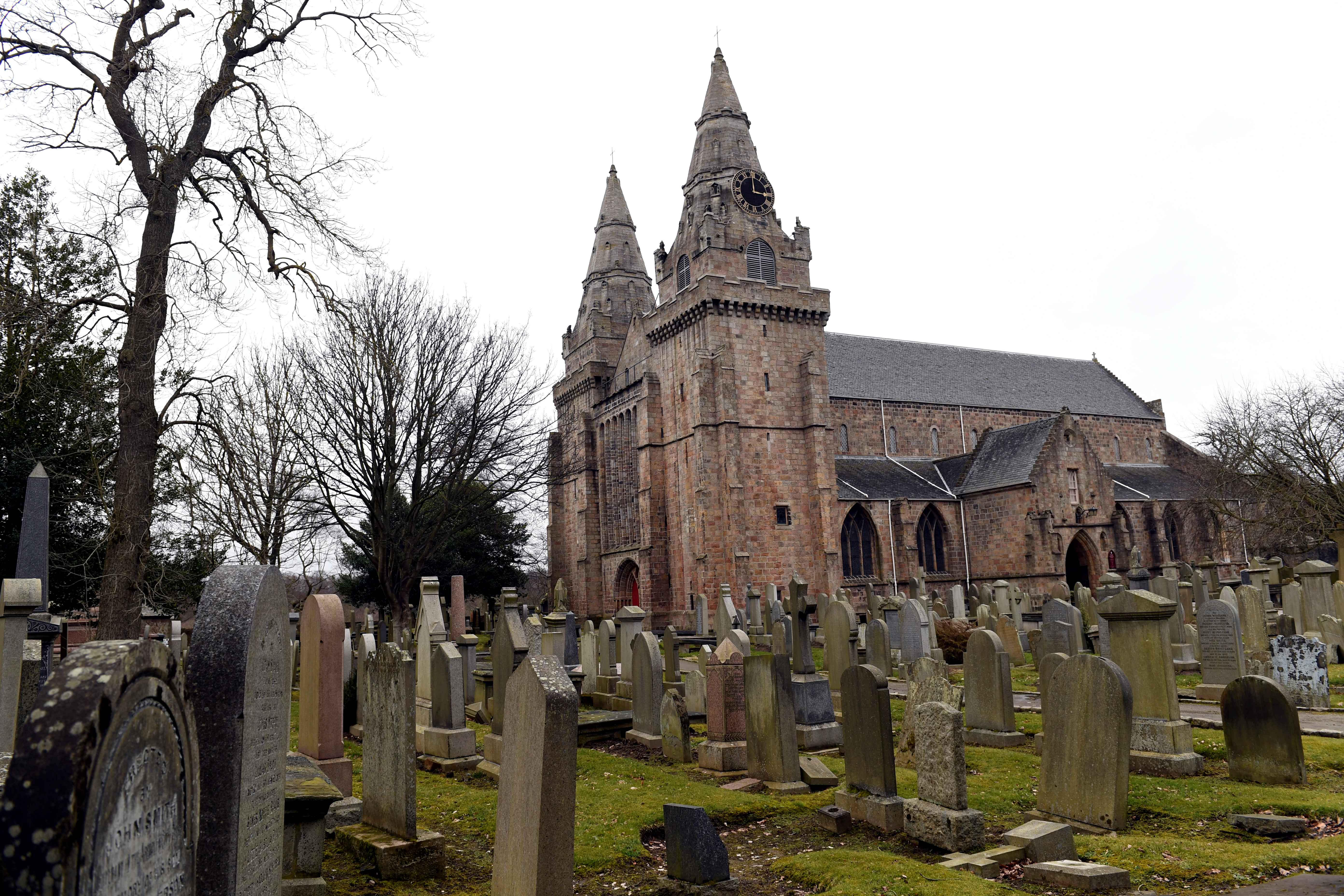 St Machar Cathedral.      Picture by Kami Thomson    03-04-18