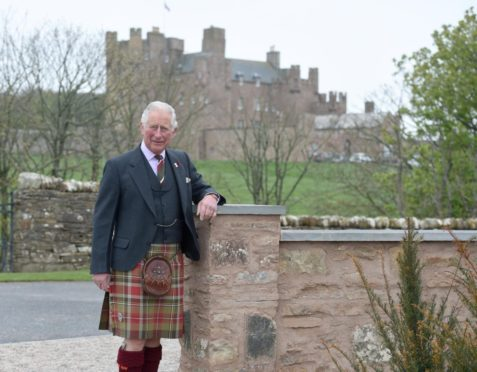 Prince Charles has spent the week at Castle of Mey prior to his appearance at the Mey Highland Games today in John O'Groats