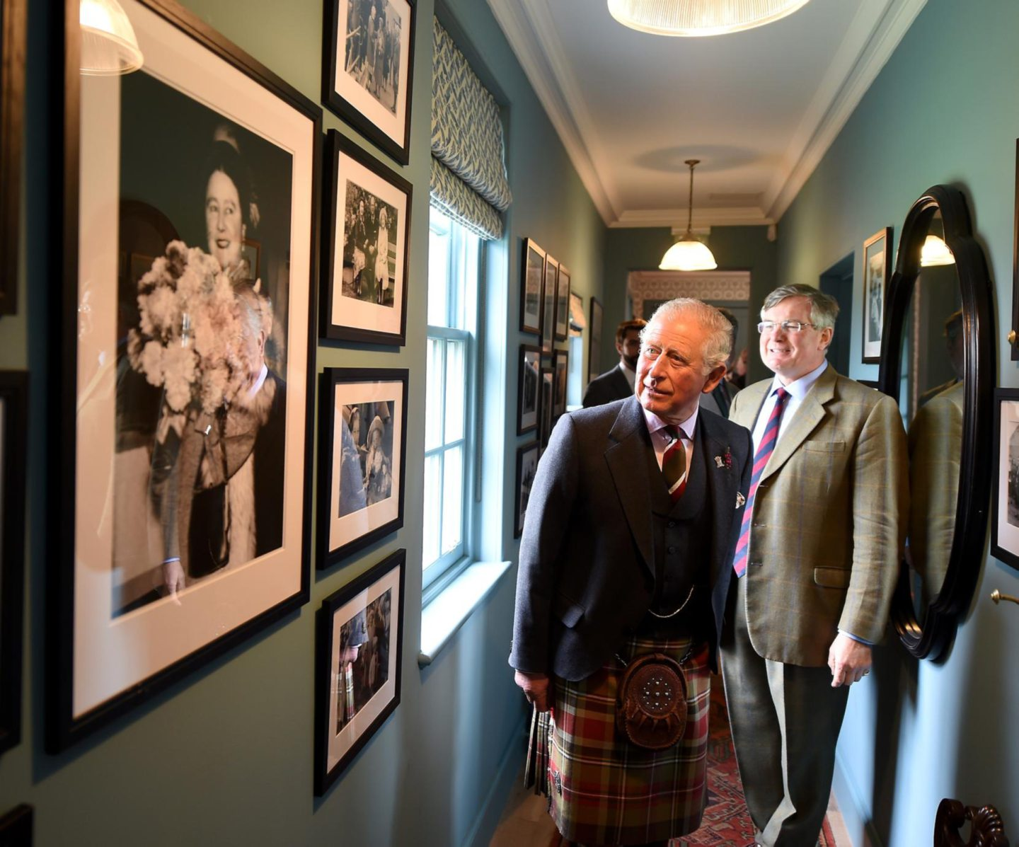 HRH The Duke of Rothesay, Prince Charles toured and opened the new 'Granary Lodge' bed and breakfast in the grounds of Castle of Mey in Caithness. Pictures by Sandy McCook.