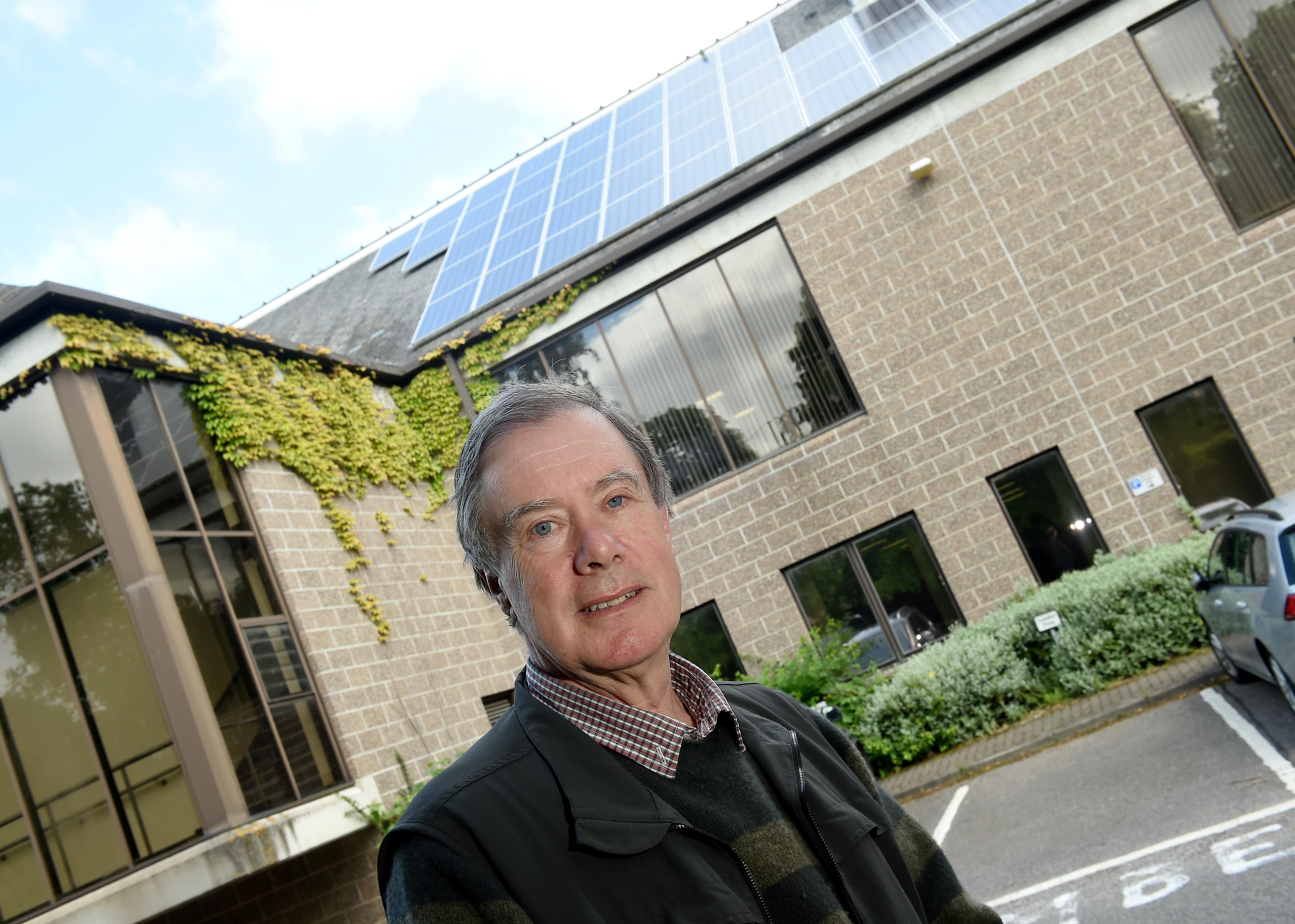 Councillor Gordon Adam. Picture by Sandy McCook.