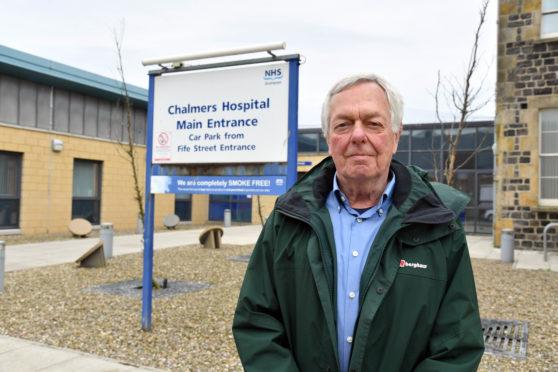 Friends of Chalmers Hospital treasurer Peter Johnston