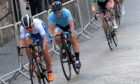 Neah Evans, front left, competing in Aberdeen during last year's Tour Series event.