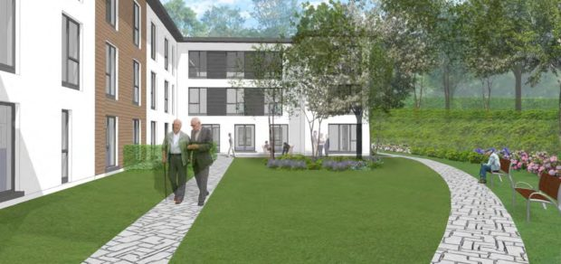 Artist impressions of the homes