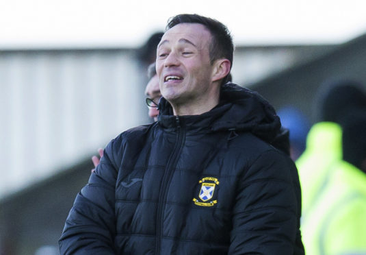 Former Aberdeen player and current East Fife manager Darren Young.