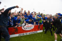 Cove Rangers celebrated becoming a League 2 side in May.
