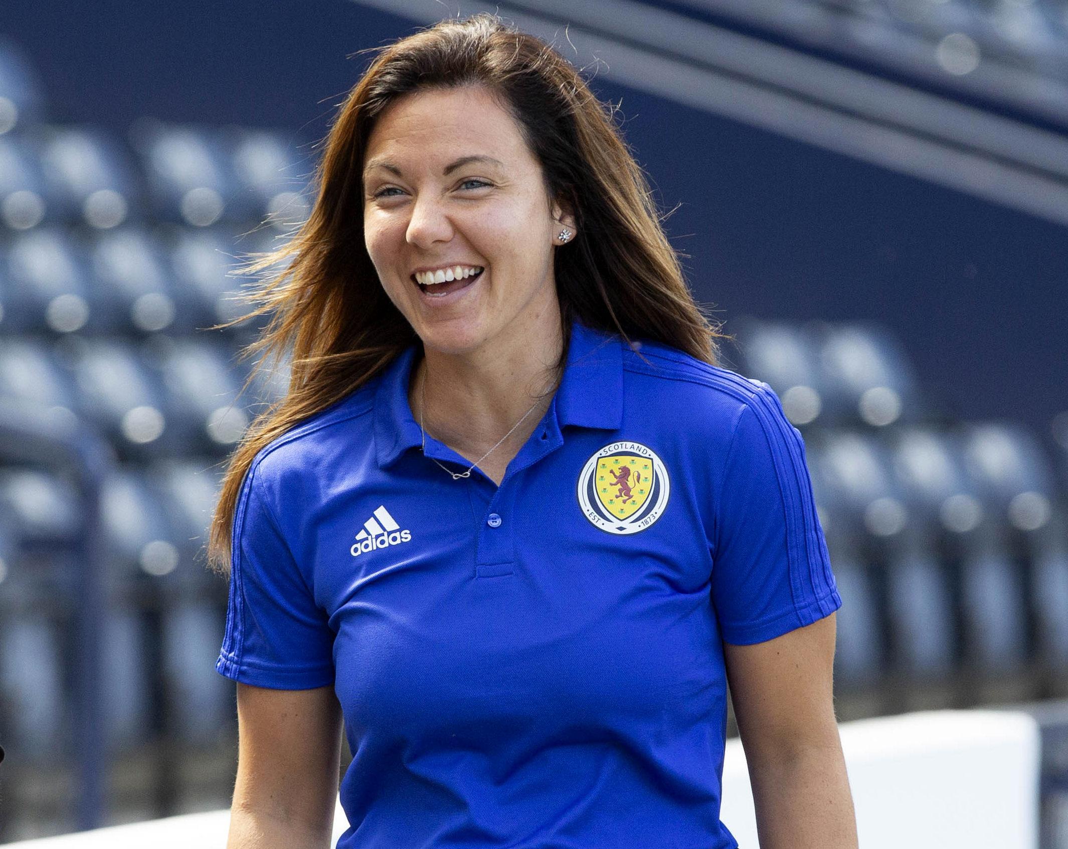 Scotland captain Rachel Corsie.