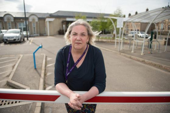 Suzanne Wright, branch secretary of Moray Unison.