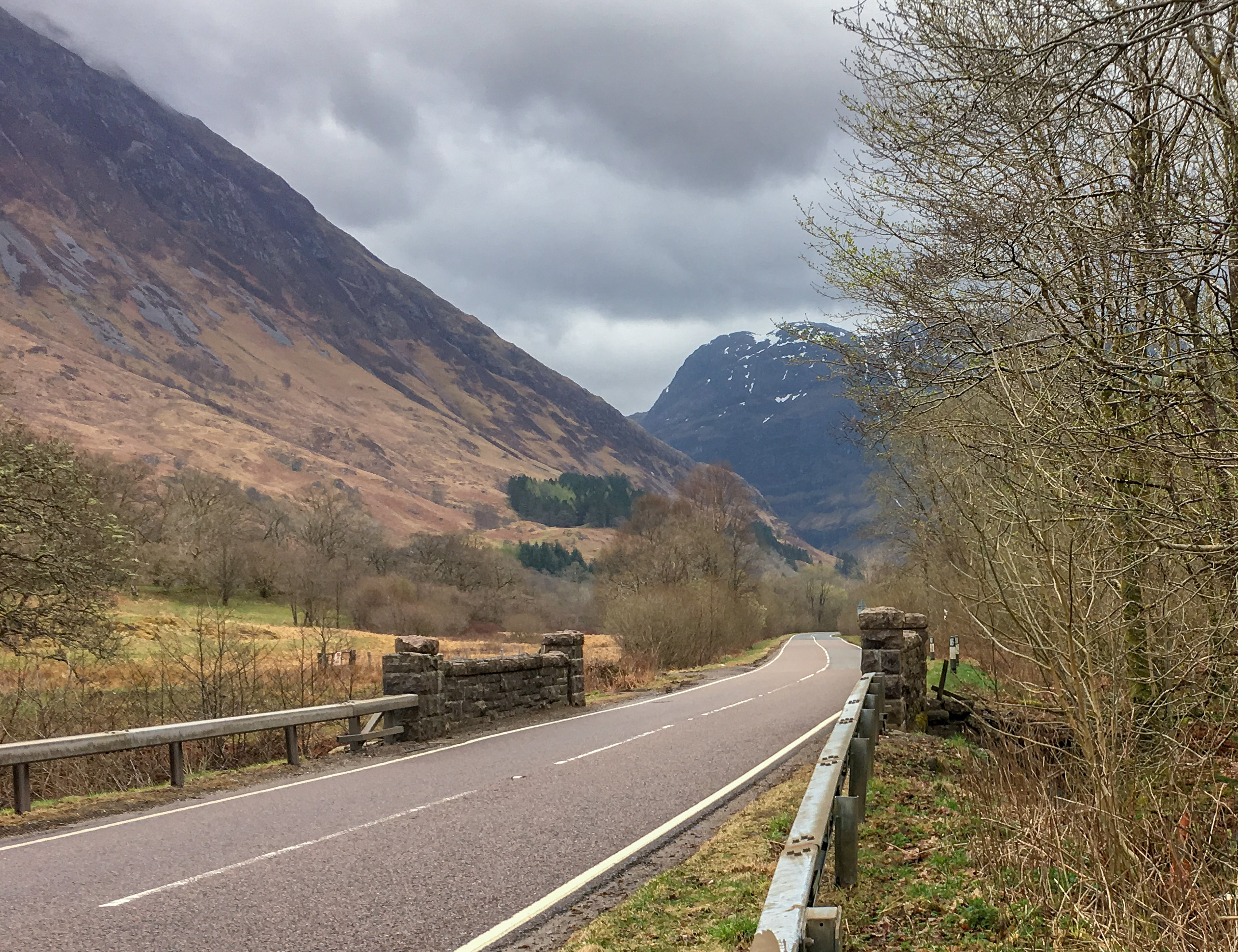The A82 Allt Fhiodhan Bridge in Glencoe is being replaced in a £1.5M project